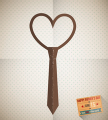 Father's day love tie