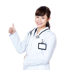 Asia female doctor