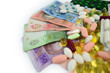 the paid medical drugs and money