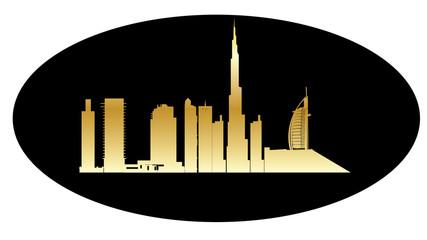 dubai modern arcitecture skyline