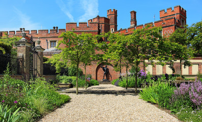 Memorial Garden by Historic Eton College