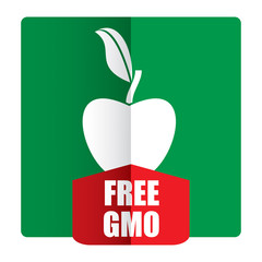 GMO free - agricultural concept
