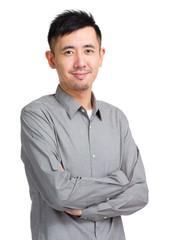 Asian man portrait