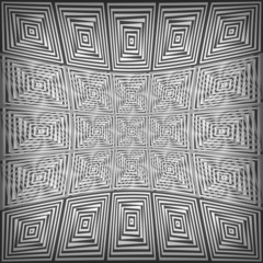 black and white background with abstract pattern