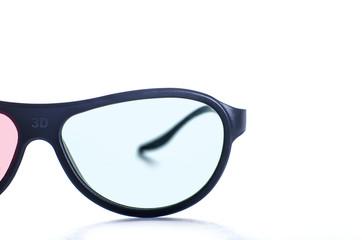 Black modern 3D Glasses
