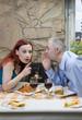 Tell me a secret / Man share a gossip.