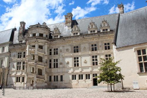 Papiers peints Chateau Château de Blois : aile François 1er