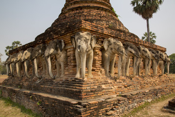 Sukhothai - Historischer Park - Wat Sorasak
