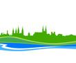 Skyline Bamberg Wasser