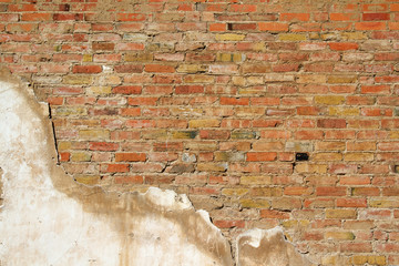Background Wall Texture of an old section wall