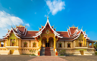 Wat That Luang Tai in Vientine, Laos