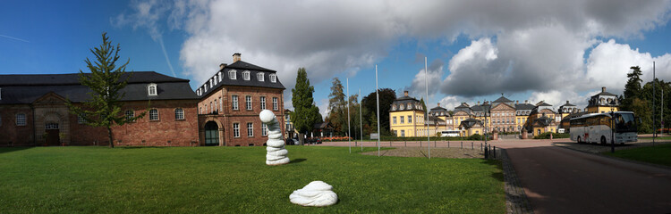 Residenzschloss und Rauch-Museum