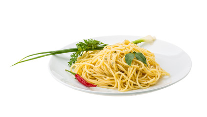 Pasta with four cheeses