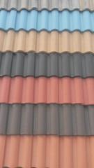 tejado de colores