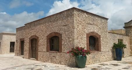 la casa de piedras