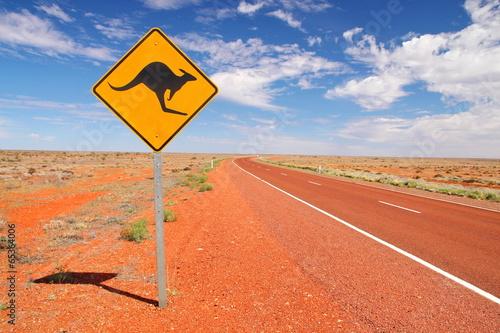 fototapeta na ścianę Australijskie drogi niekończące