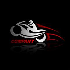 логотип мотоцикл