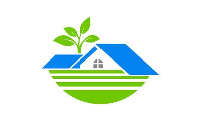 eco house Branding corporate logo