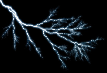 lightning effect, background
