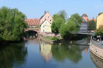 Pegnitz in Nürnberg