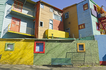 Caminito, La Boca district, Buenos Aires, Argentina