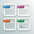 Infographics Background #Four Effects, Square