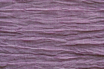texture of horizontally crumpled knitted fabric