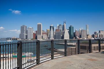 Manhattan skyline - New York, NYC