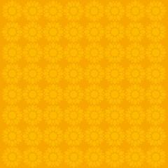 creative flower pattern in yellow