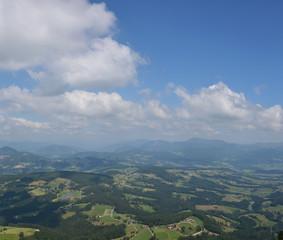 Landscape in Styria