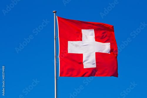 Swiss flag © swisshippo