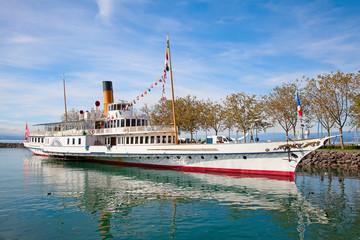 Vintage steam boat