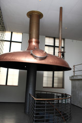 Interior of brewery