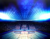 Fototapety Basketball arena