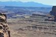 Canyon lands in Utah in April 2014