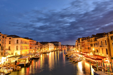 Venezia, notturno