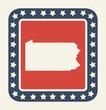 Pennsylvania American state button