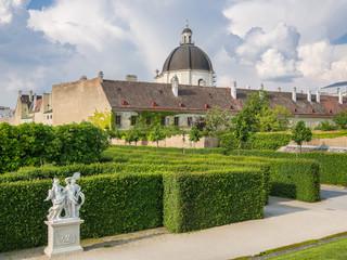 View from Belvedere garden