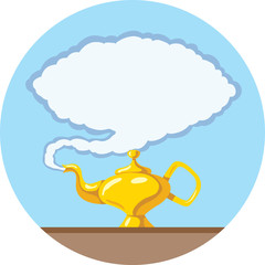 Stylized Magic lamp