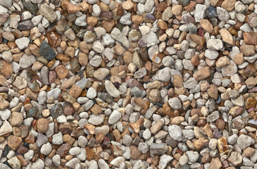Seamless background made of gravel