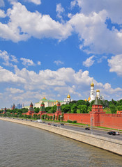 Moscow Kremlin and city centre