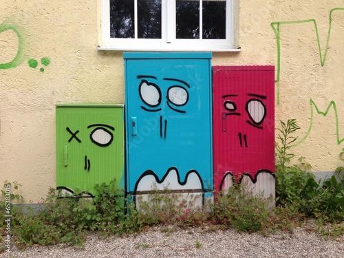 fototapeta na ścianę Streetart Munich