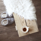 Fototapety Details of rustic home