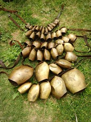 mamuthone's bells, sardinia, italy