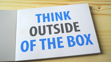 Think outside of the box on the notebook page. 1920x1080 full hd