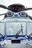 Großer Hubschrauber – Vorderansicht
