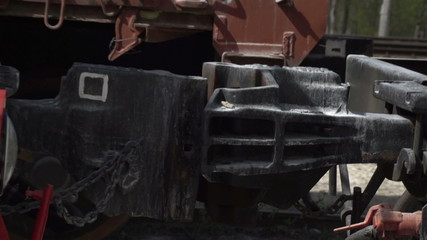 A metal from a train