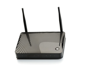 Wi-Fi router for hi-speed internet connections