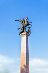 Saint George sculpture, Nizhny Novgorod, Russia