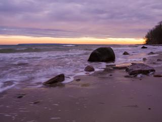 Abenddämmerung am Kap Arkona auf Rügen